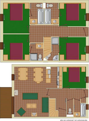 10-13 Person Apartment Plan